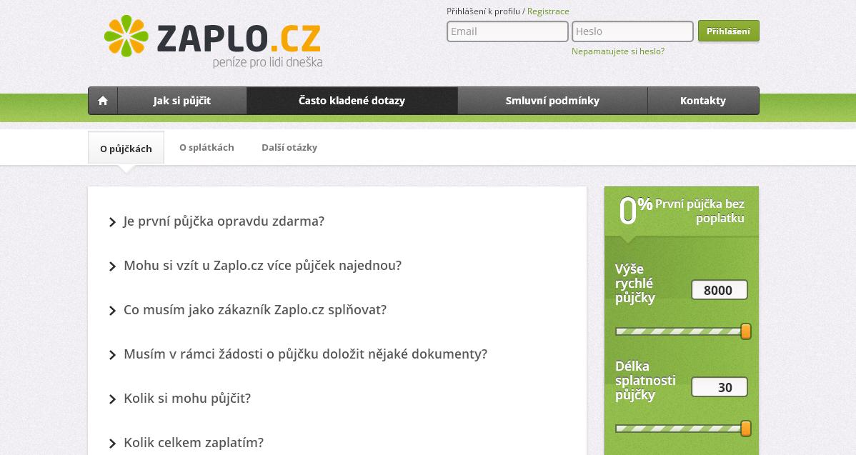 Pujcka Zaplo.cz