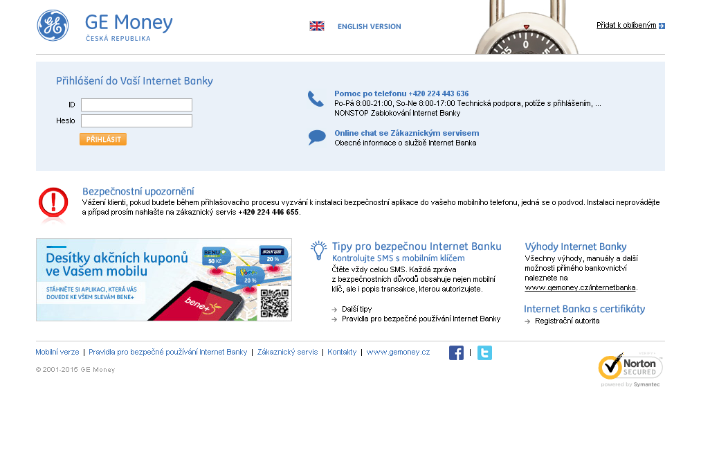 Internetbanking Gemoney